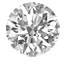 Round shape diamond