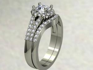 diamond halo design
