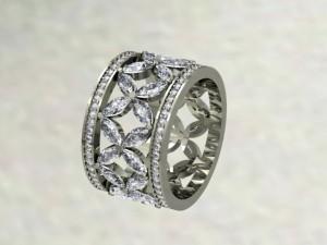 marquise custom ring design
