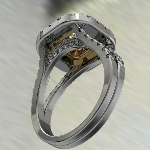 halo engagment ring design