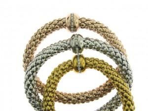 tri colour bracelets