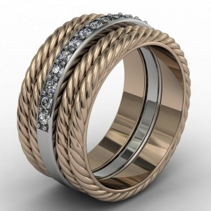 rope diamonf ring