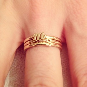 mini initial rings