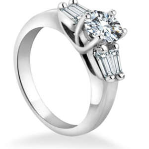 Round Brilliant Engagement Ring Toronto