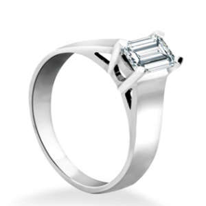 Emerald Cut Lab Diamond Ring Toronto
