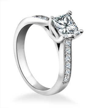 Gia Certified Lab Created Diamond Rings
