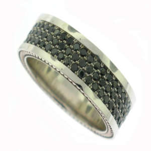 Black Diamond Band For Men