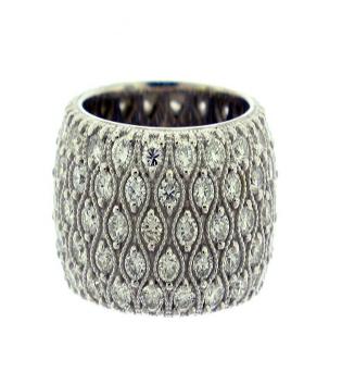 Nice Pave Diamond Ring Toronto