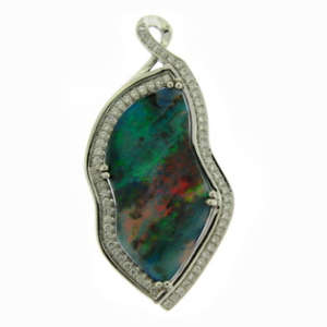 Opal Diamond Pendants Toronto