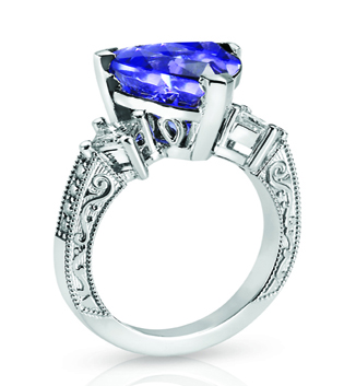 Trillium Tanzanite Ring in Toronto
