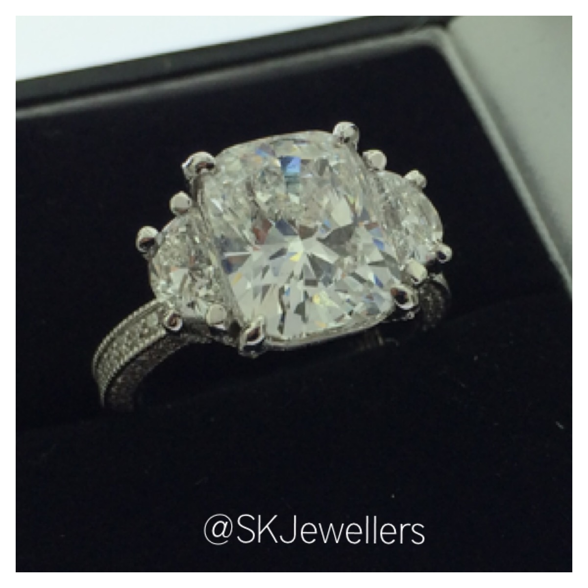wedding rings the collection faceted features engagement patented our over and bands with pin