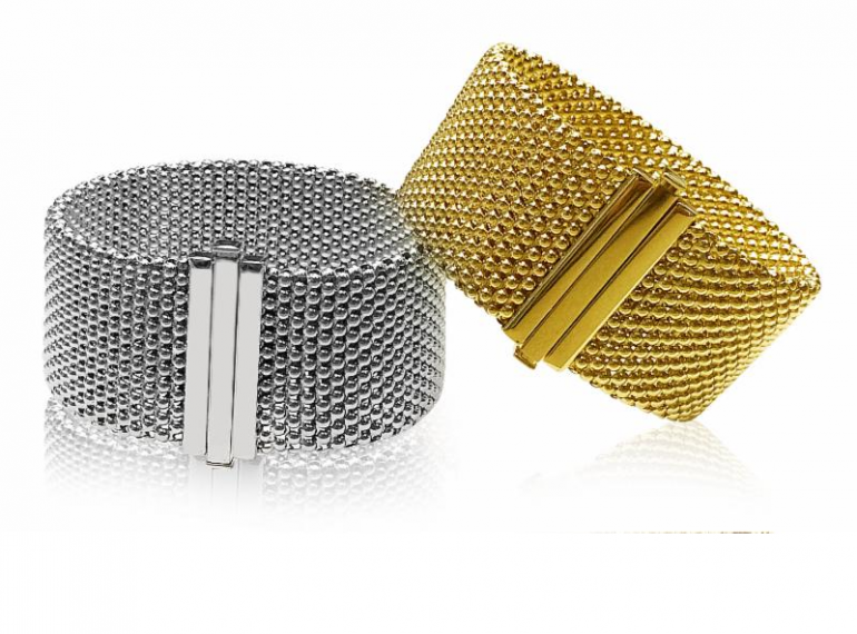 Gold Mesh Bracelets
