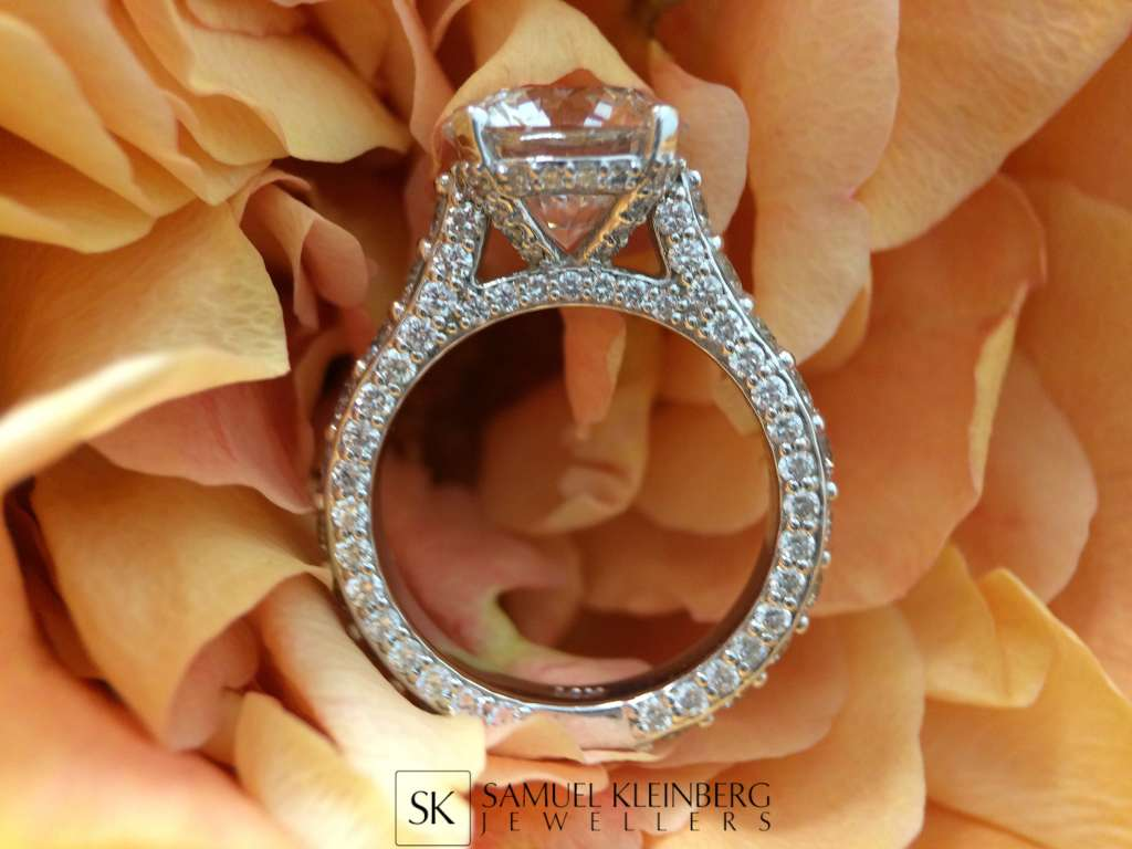 melissa spivak engagement ring