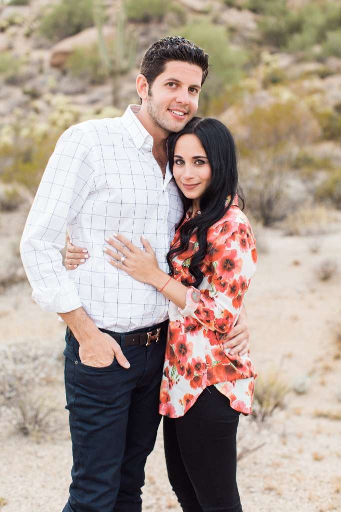 Melissa Spivak and Billy Halpern engaged
