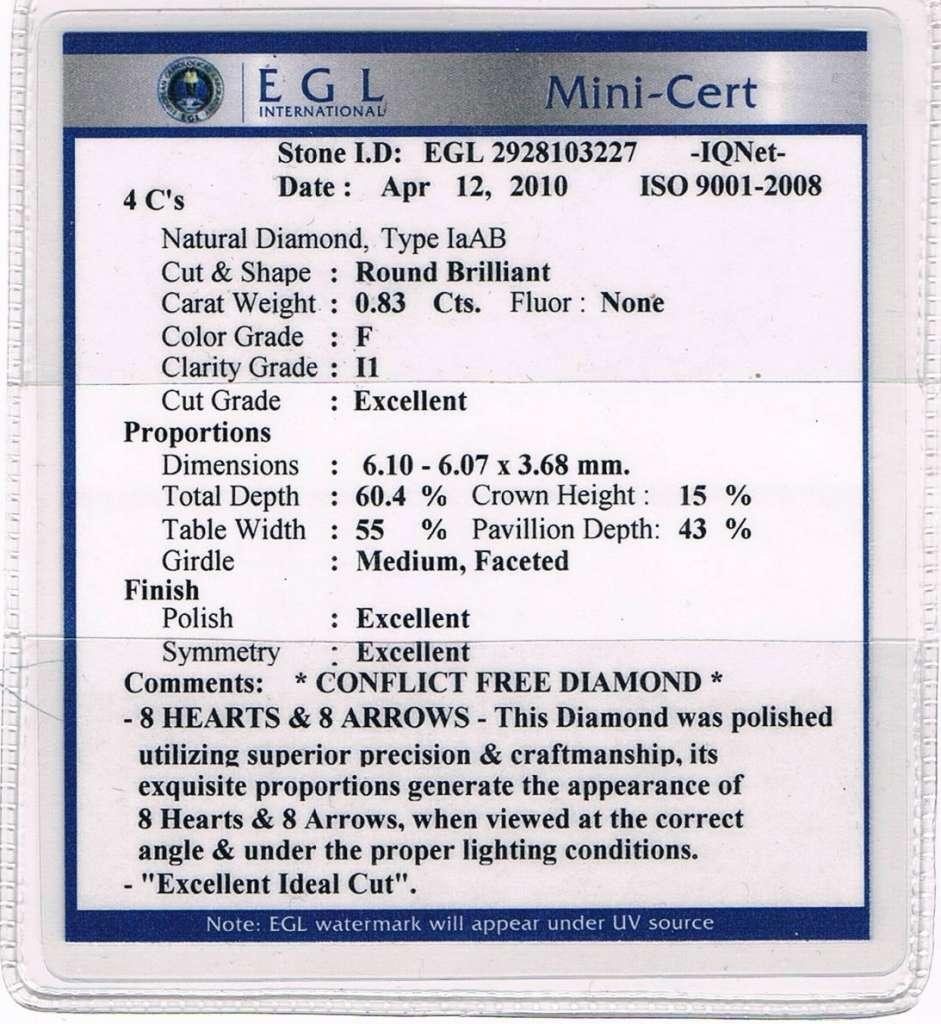 egl cert example