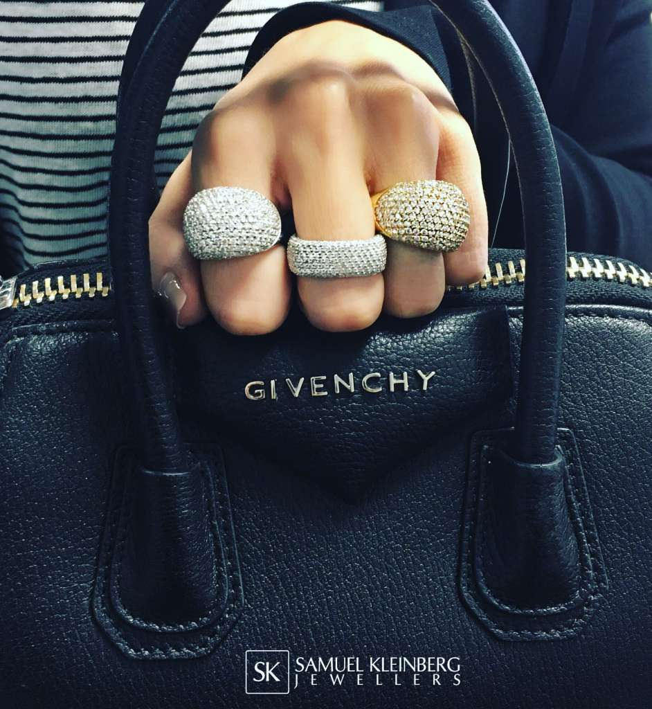 Givenchy and diamonds