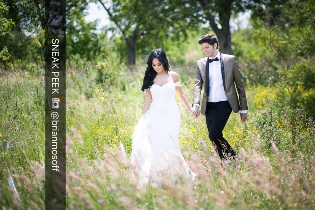 Melissa Spivak and Billy Halpern wedding day